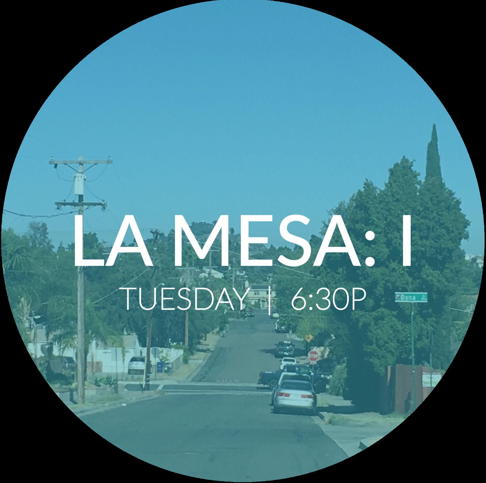 La Mesa: I