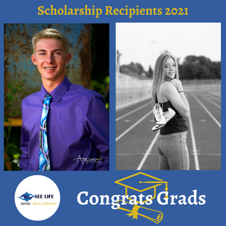 See Life Family Vision Source Scholarship Recipients 2021