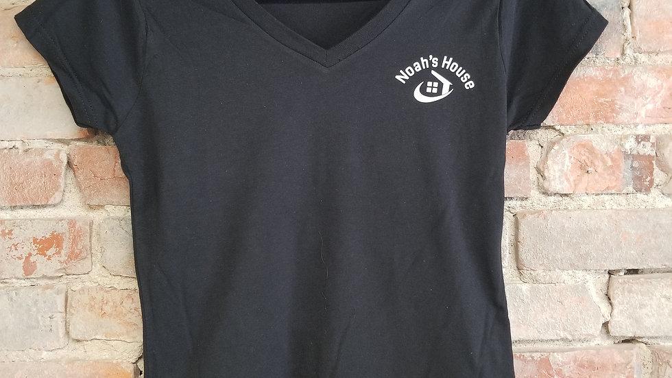 V Neck Anchor Shirt (ladies)