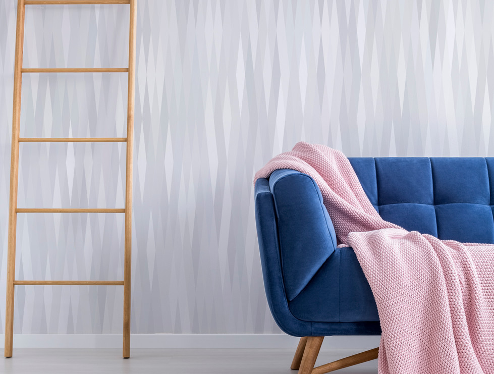 SEDIMENT Blue couch - pink throw.jpg