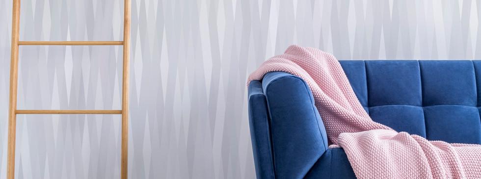 SEDIMENT Blue couch - pink throw.jpg