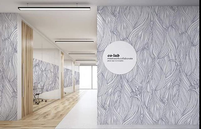 This is co-lab, a concept for co-working