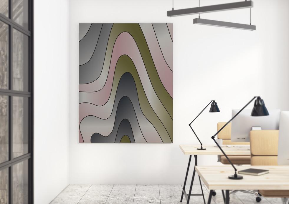 Office with Artboard - LAVA - Kilimanjao