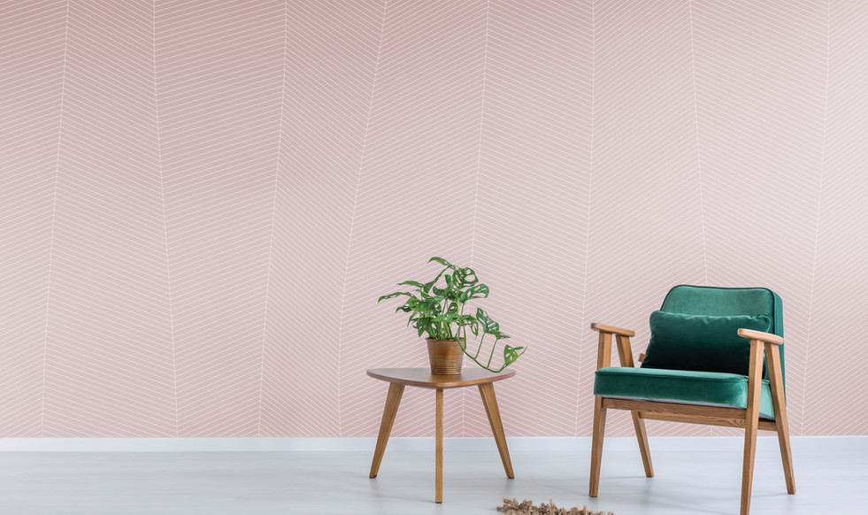 Pink wall green chair-Foilage.jpg