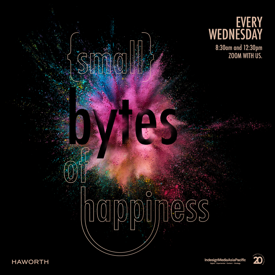 {small} bytes of happiness