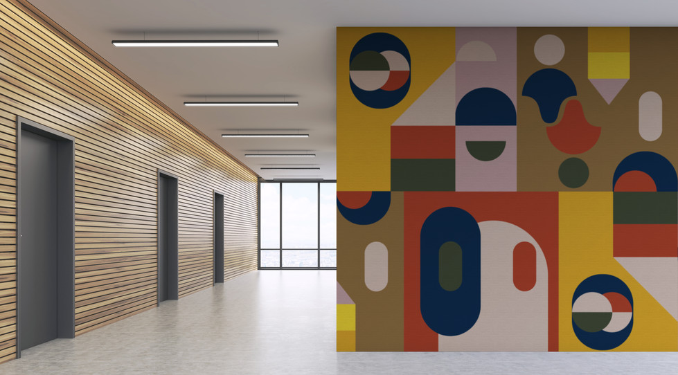 Connexion - Milano on Wallcovering