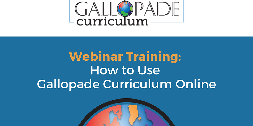 Training: How to Use Gallopade Curriculum Online