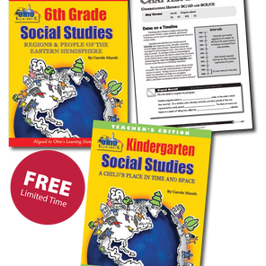 Gallopade Offers Free K-6 Social Studies to the State of Ohio for a Limited Time