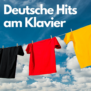 Deutsche Hits am Klavier