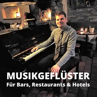 Barpianist David Lodenkemper: Musikgeflüster für Bars, Restaurants und Hotels