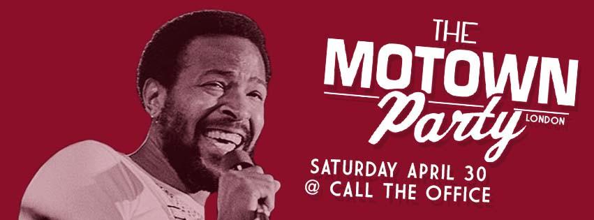 Motown Party London April 2016
