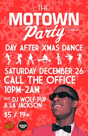 Motown Party London Dec 26 2015