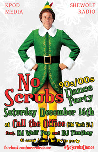 No Scrubs Dance December 16th 2017