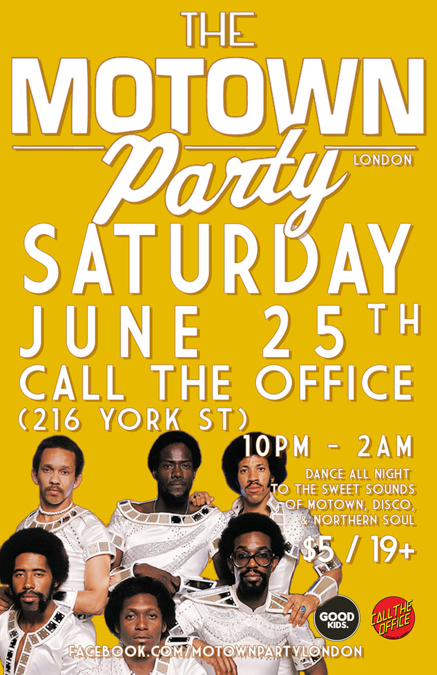Motown Party London Jun 25 2016