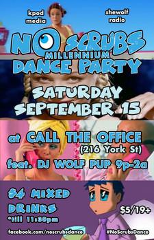 No Scrubs Dance September 15 2018