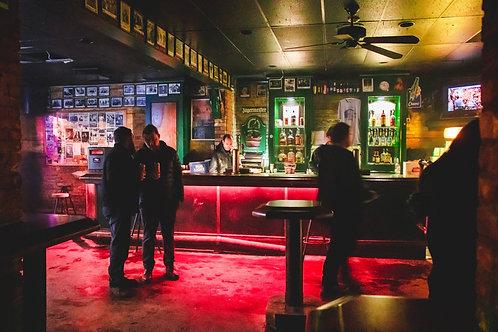 Tony Behind the Bar - Photo Print