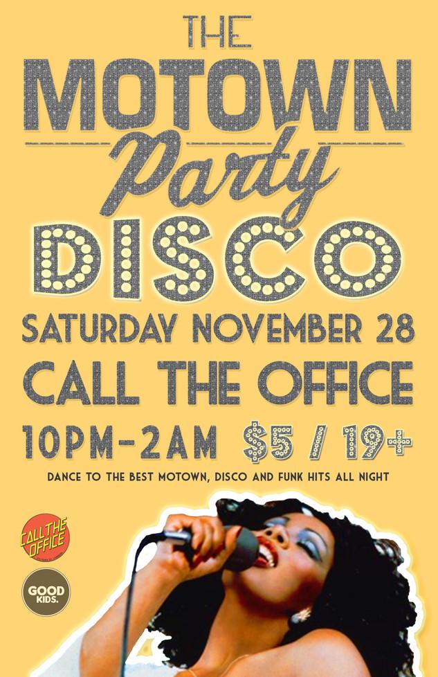 Motown Party London Nov 28 2015