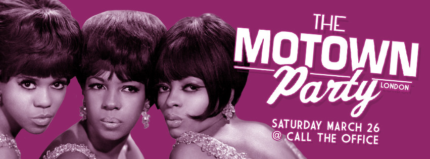 Motown Party London March 2016