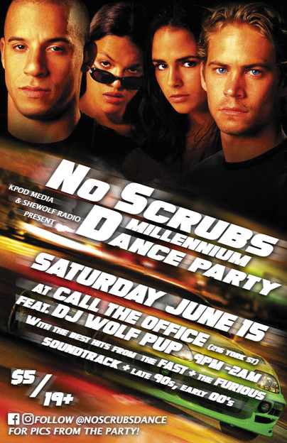 No Scrubs Dance June 15 2019