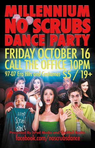 No Scrubs Dance October 16 2015