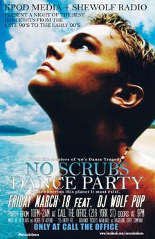 No Scrubs Dance March 10 2016