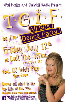 TGIF All 90s Dance Party July 19 2019