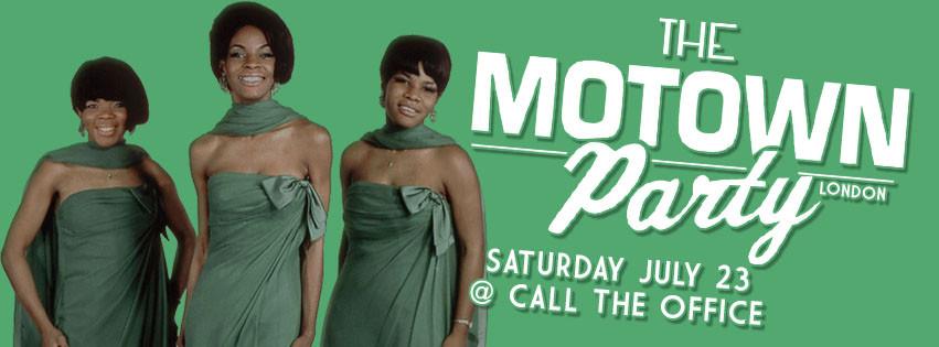 Motown Party London July 2016