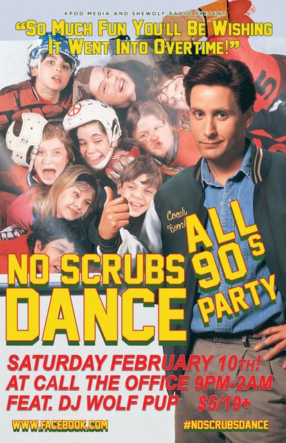 No Scrubs Dance February 10 2018