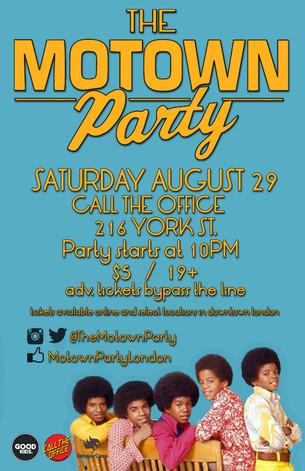 Motown Party London Aug 29 2015