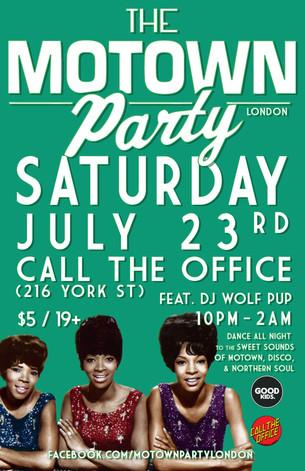 Motown Party London Jul 23 2016