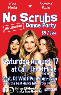 No Scrubs Dance August 17 2019