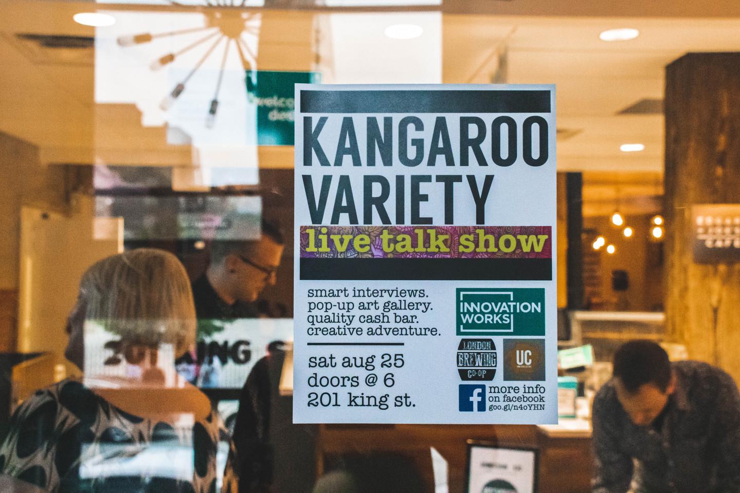 Kangaroo Variety @ Innovation Works