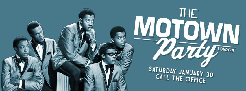 Motown Party London January 2016