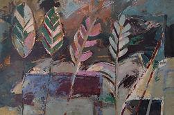 Paisagem de Quintal I - 160 x 220 cm