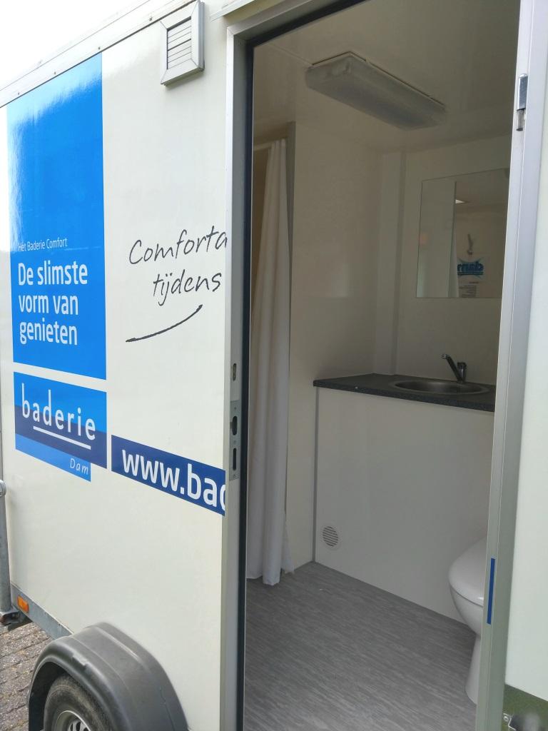 Mobiele badkamer Baderie Dam Terneuzen 3