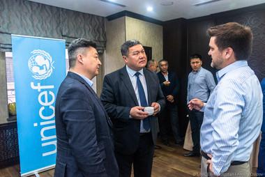 """Workshop for engineers on seismic enhancement methodology held on April  19-th, 2019. """"Golden Tulip"""" hotel, Bishkek, Kyrgyzstan."""