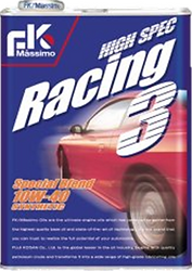 """High Spec Racing 3 consists of 100% chemical synthesis oil containing a copious amount of PAO.   This """"strong"""" oil film fully protects engines from harsh conditions and widely improves the performance of your vehicles.   Suitable for: High performance cars Small or middle sized sports cars Flat Engine Cars Rotary Engine Cars"""