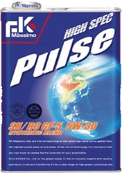 High Spec Pulse is a delightful blend of chemical synthesis oil and hydrocracking oil, giving a similar degree of performance as 100% chemical synthesis oil.  The excellent low-temperature fluidity reduces damage caused by starting engines.  Suitable for: High performance cars Fuel saving engine cars Sports cars NA American cars
