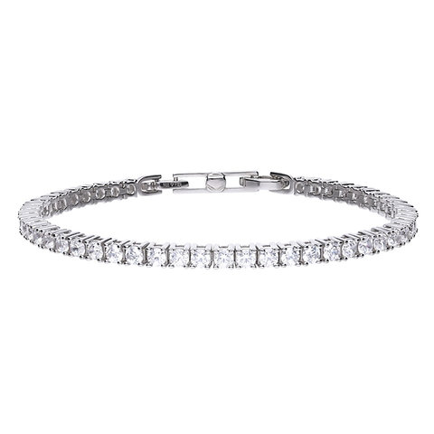 Claw Set Zirconia Tennis Bracelet