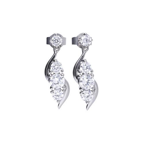 Twirl Drop Earrings