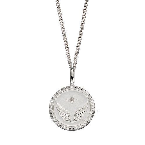 Freedom Empowerment Necklace with Cubic Zirconia