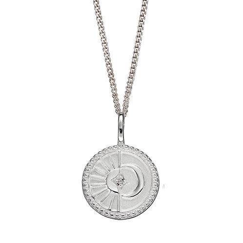 Inner Light Empowerment Necklace with Cubic Zirconia