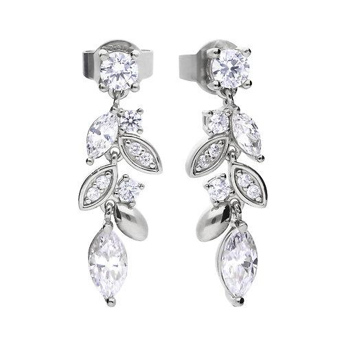 Diamonfire Marquise and Multi-Stone Drop Earrings
