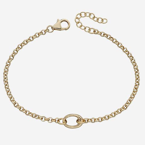 Single Link Charm Bracelet