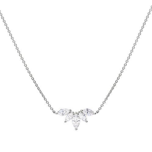 Marquise Zirconia Necklace