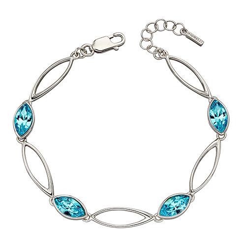 Fiorelli Crystal Navette Twist Bracelet