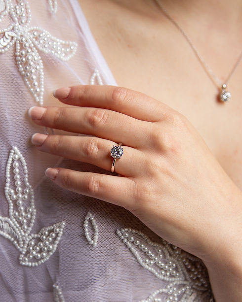 Sparkly jewellery gifts with our affordable 4 claw 2ct ring