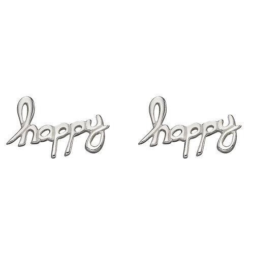 Happy Stud Earrings