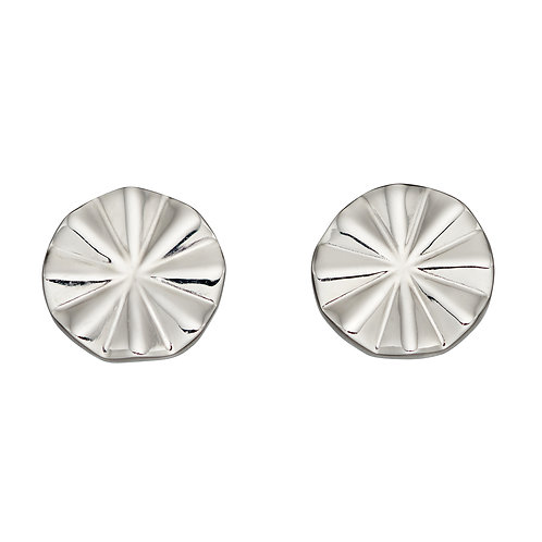 Fiorelli Diamond Cut Bevelled Earrings