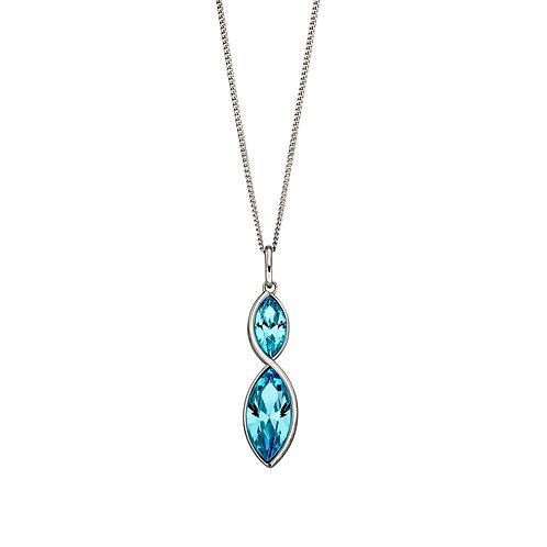 Fiorelli Crystal Navette Twist Necklace